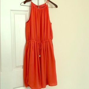 Banana Republic salmon colored dress size 4